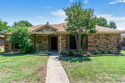 Allen TX Single Family Home For Sale: $239,000