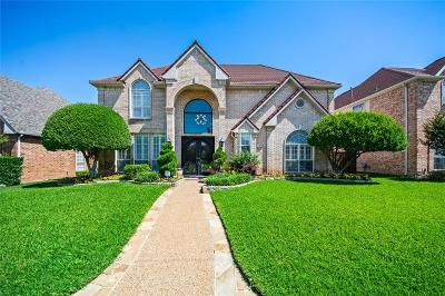 Plano Single Family Home Active Contingent: 3921 Overlake Drive