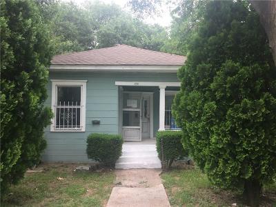 Dallas Single Family Home For Sale: 4724 Junius Street