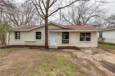 Grand Prairie Single Family Home For Sale: 722 Pangburn Street