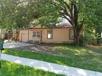 Arlington Single Family Home For Sale: 1608 Connally Terrace
