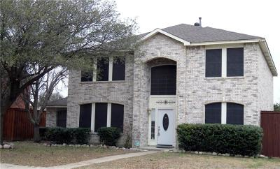 Allen Single Family Home For Sale: 1547 Hickory Trail