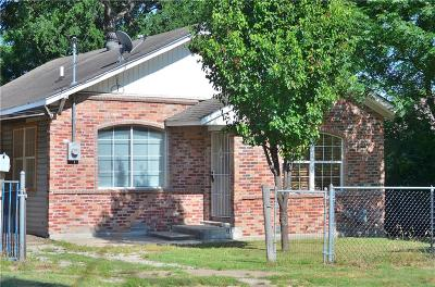 Dallas Single Family Home For Sale: 818 Cumberland Street