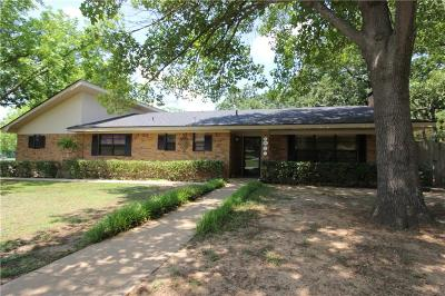 Denison Single Family Home For Sale: 1627 S Maurice Avenue