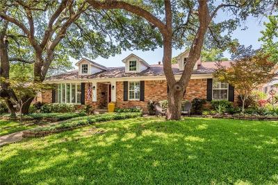 Dallas Single Family Home For Sale: 9539 Covemeadow Drive
