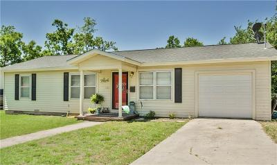 Stephenville Single Family Home For Sale: 1260 N Garfield Avenue