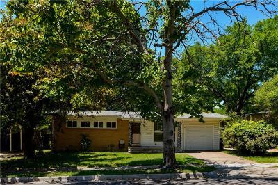 Fort Worth Single Family Home For Sale: 4100 Eldridge Street