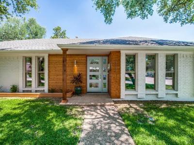 Dallas Single Family Home For Sale: 3493 Salisbury Drive