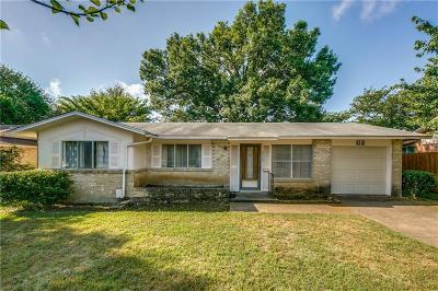 Dallas Single Family Home For Sale: 4518 Baystone Drive