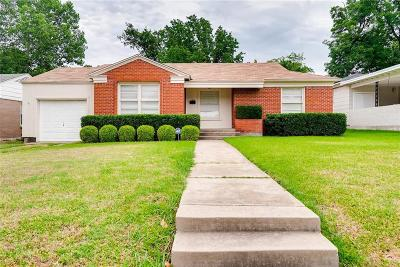 Fort Worth Single Family Home For Sale: 2817 Ryan Place Drive