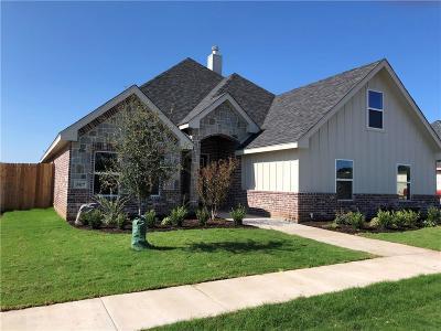 Abilene Single Family Home For Sale: 3417 Front Nine
