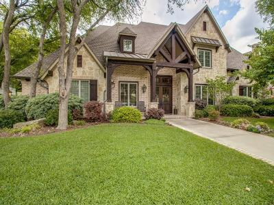 Richardson Single Family Home Active Option Contract: 319 Fall Creek Drive