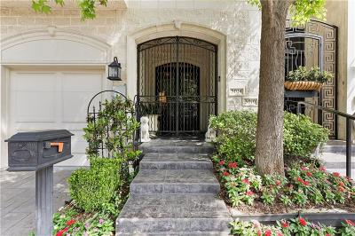 Dallas TX Townhouse For Sale: $1,195,000