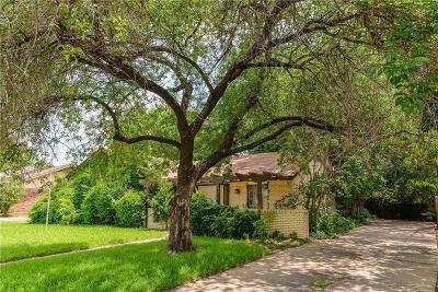 Irving Single Family Home For Sale: 3602 Missoula Street