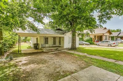 Fort Worth Single Family Home For Sale: 1805 Denver Avenue