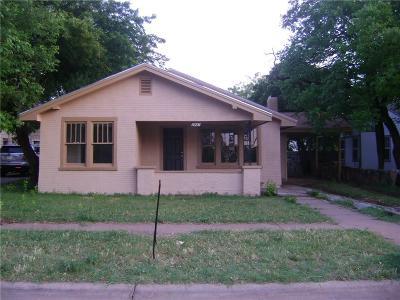 Abilene Single Family Home For Sale: 2941 S 12th Street