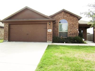 Fort Worth Single Family Home For Sale: 2613 Adams Fall Lane