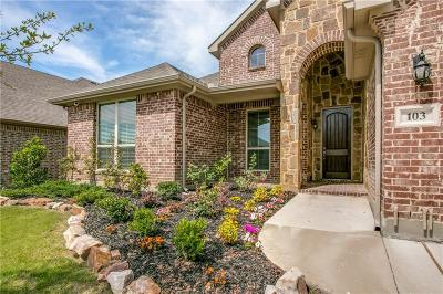 Hickory Creek Single Family Home Active Option Contract: 103 Traveller Street