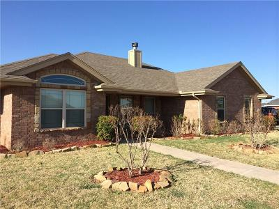 Abilene Single Family Home Active Option Contract: 134 Sugarberry Avenue