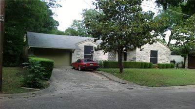 Dallas Single Family Home For Sale: 1434 Michigan Avenue
