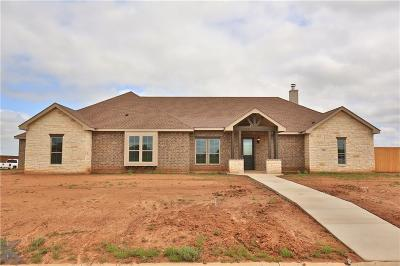 Abilene Single Family Home For Sale: 202 Tierra Court