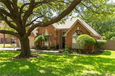 Grapevine Single Family Home Active Option Contract: 1097 Woodbriar Drive