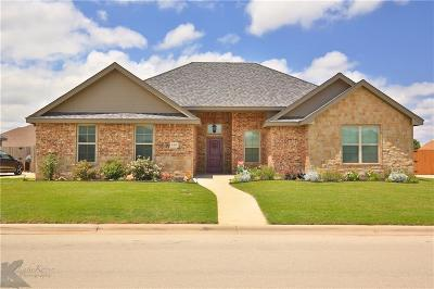 Abilene Single Family Home For Sale: 6434 Milestone Drive