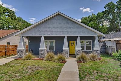 Mansfield Single Family Home For Sale: 210 W Oak Street