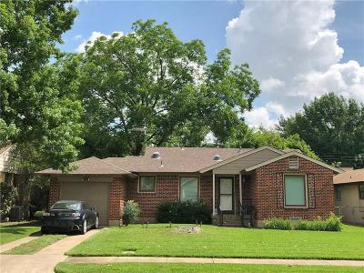 Dallas Single Family Home For Sale: 608 Aqua Drive