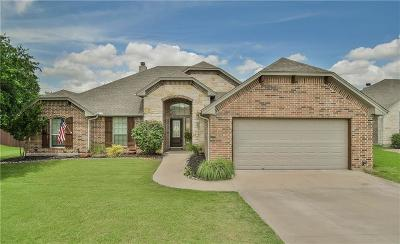Granbury Single Family Home Active Option Contract: 3129 Meandering Way
