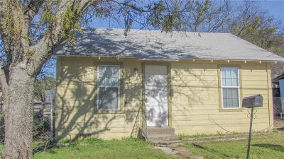Stephenville Single Family Home For Sale: 809 Riverside Drive