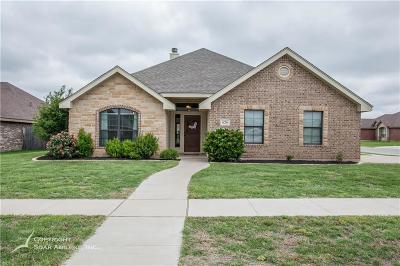 Abilene Single Family Home For Sale: 626 Scoobie Trail
