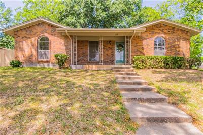 Bedford, Euless, Hurst Single Family Home For Sale: 1017 Sherwood Drive