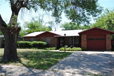 North Richland Hills Single Family Home Active Option Contract: 4809 Grove Street