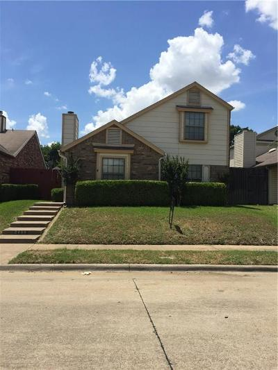Irving Single Family Home For Sale: 2711 Game Lake Drive