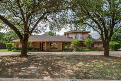 Corinth Single Family Home For Sale: 3609 Red Oak Drive