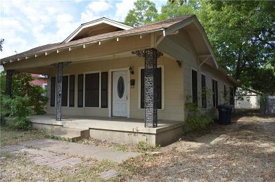 Fort Worth Single Family Home For Sale: 2303 McKinley Avenue