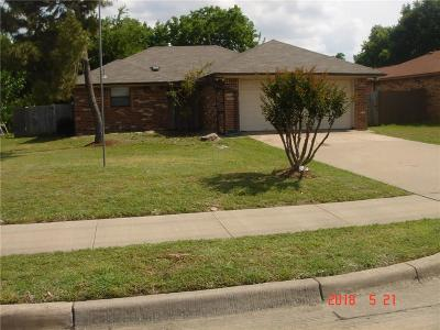 Keller Single Family Home Active Option Contract: 308 Johnson Road