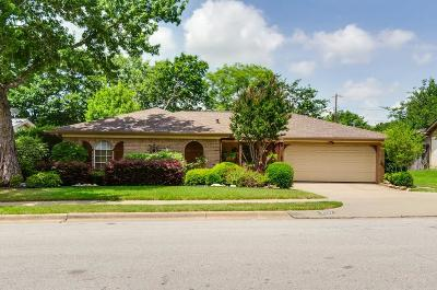 Hurst Single Family Home Active Option Contract: 2217 Mountainview Drive