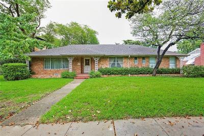 Dallas TX Single Family Home For Sale: $750,000