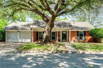 North Richland Hills Single Family Home For Sale: 7233 Green Meadow Drive