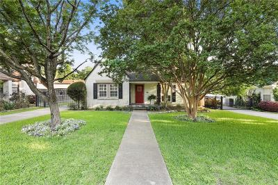 Dallas, Fort Worth Single Family Home For Sale: 5334 McCommas Boulevard
