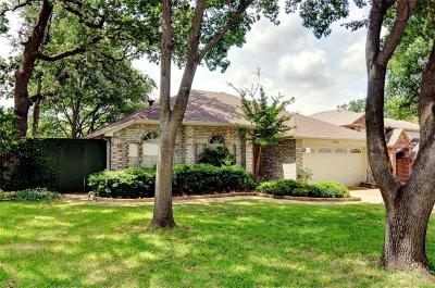 Grapevine Single Family Home Active Option Contract: 1721 Brettenmeadow Drive