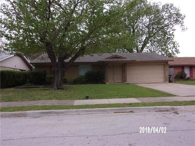 Carrollton  Residential Lease For Lease: 1831 Briarcrest Cove
