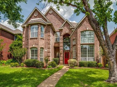 Coppell Single Family Home Active Option Contract: 906 Beau Drive