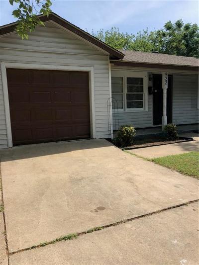 Haltom City Single Family Home For Sale: 5221 Sabelle Lane