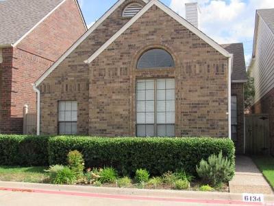 Dallas Single Family Home For Sale: 6134 Jereme Trail