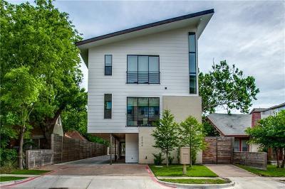 Dallas, Fort Worth Condo For Sale: 2304 N Garrett Avenue #2