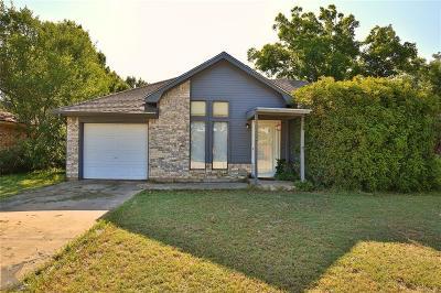 Abilene Single Family Home For Sale: 3957 Radcliff Road
