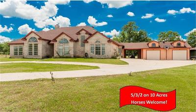 Burleson Single Family Home Active Contingent: 6833 County Road 608